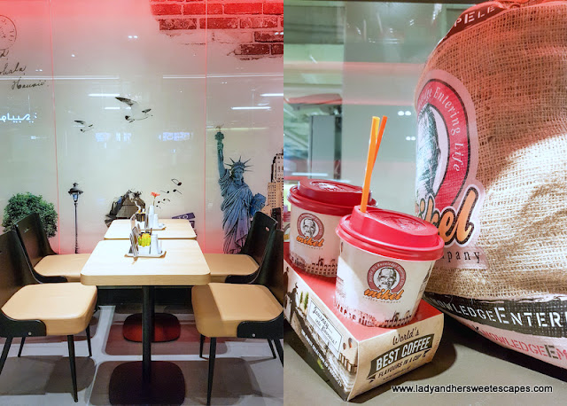 Mikel Cafe in BurJuman