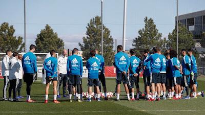 ريال مدريد يعلن العودة للاعبيه للمران ابتداء من الاثنين