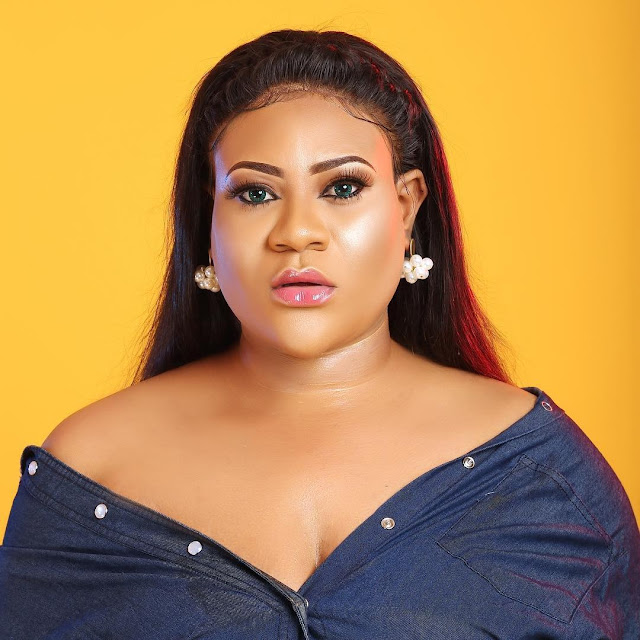 Nkechi Blessing, Nollywood actress,  reportedly  hospitalised after collapsing on set (Video)