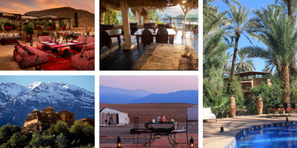 7 ecolodges لاكتشافها في جميع أنحاء المغرب