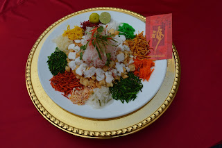 Yee Shang - Traditional Salad for Chinese New Year