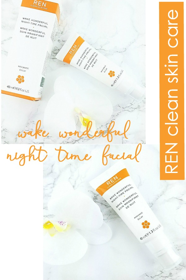 The Perfect Lazy Girl Facial | REN Wake Wonderful Night Time Facial