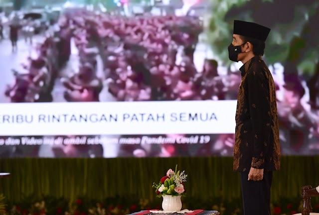 Presiden Jokowi Hadiri Pembukaan Konfrensi Besar XXIII GP Ansor 2020 | dutametro