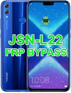 Huawei Honor 8X JSN-L22 FRP Bypass Downgrade Offical Stock RomFirmwareFlash file Download