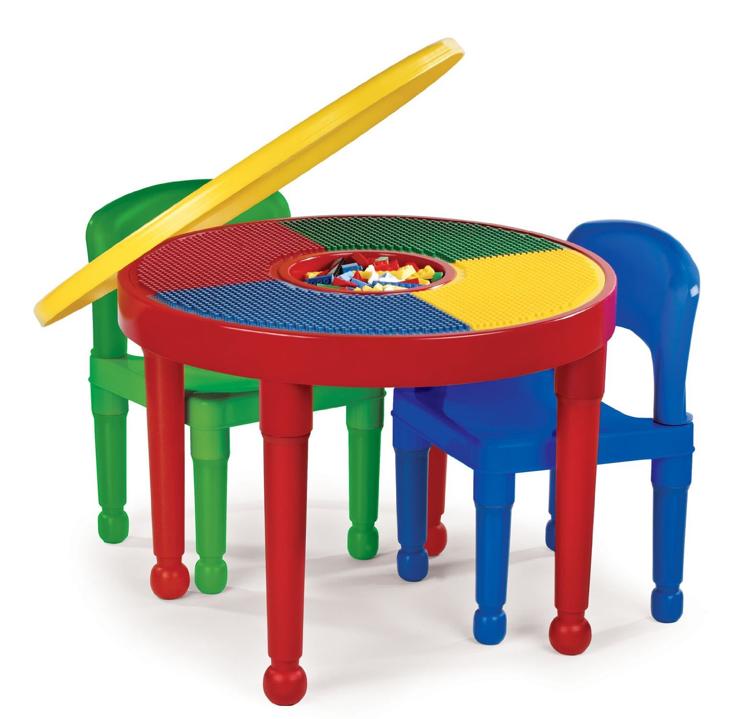 Total fab children 39 s plastic table and chair sets for Craft tables for kids