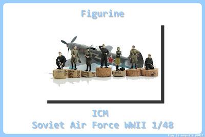 Figurine de la Soviet Air Force WWII