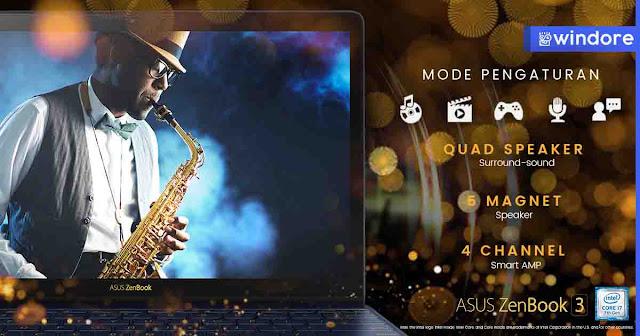 Menciptakan Suaru yang terbaik Asus dan Harman Kardon Asus Zenbook 3 UX390