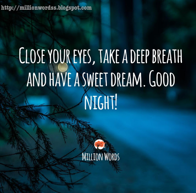 Good Night Images With Beautiful Quotes For Family, Friends & Lover