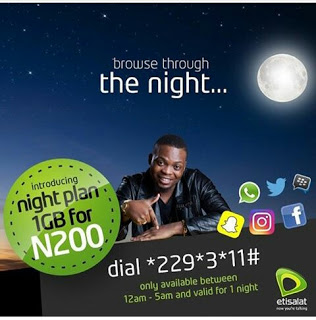 Etisalat Launches The Worst Night Data Plan Ever