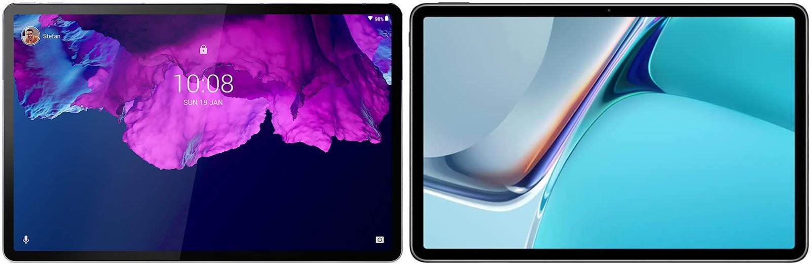 Lenovo Tab P11 Pro vs Huawei MatePad 11 2021