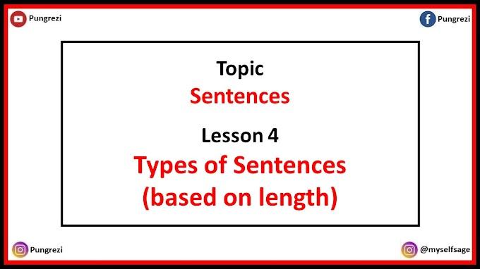 4. Types of Sentences (based on length)