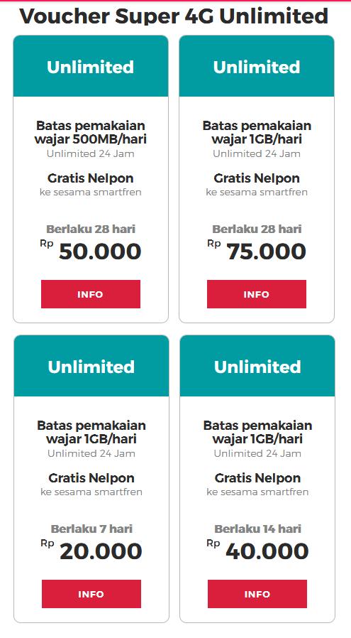 Paket Internet Smartfren Unlimited Hanya 20 Ribuan - Nikmati Kuota Tanpa Batas