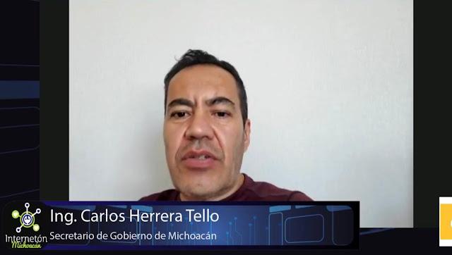 Se suma Carlos Herrera al Internetón de AMANC