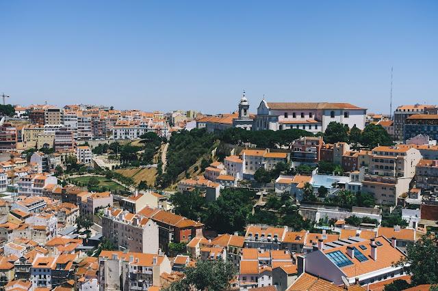 サン・ジョルジェ城(Castelo de S. Jorge)からの眺め