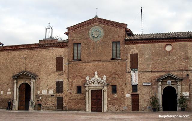 Igreja de São Francisco, Siena, Itália