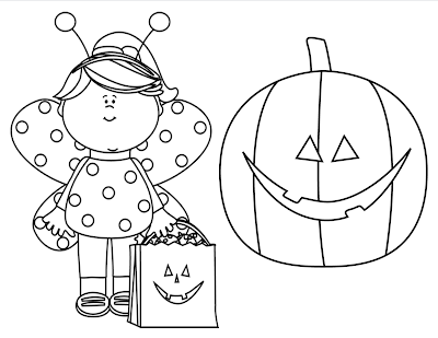 Pumpkin patch colouring pages for Months of the year coloring pages
