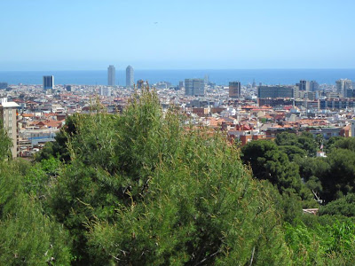 View of Barcelona from Oreneta Park