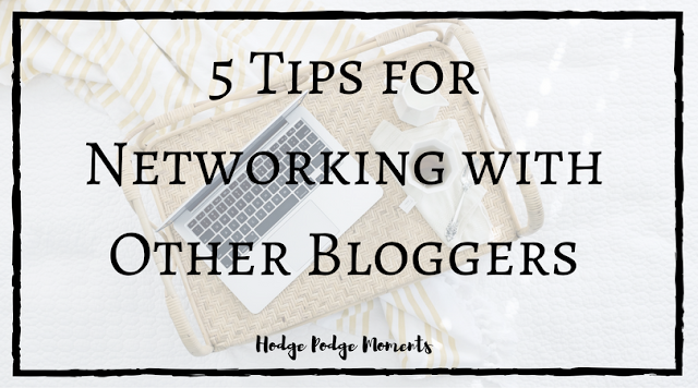 5 Tips for Networking with Other Bloggers