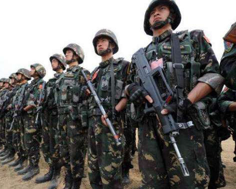 The Chinese army occupied an area of 40 to 60 km from Ladakh