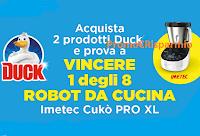 Logo Duck : Vinci un Robot Imetec Cukò Pro XL (valore 490€)