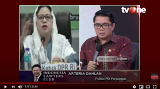 Terbongkar Semuanya di ILC, Kakek Arteria Dahlan PDIP Ternyata Pendiri PKI di Sumbar