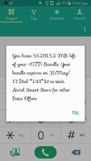 Airtel free mb cheat 2017
