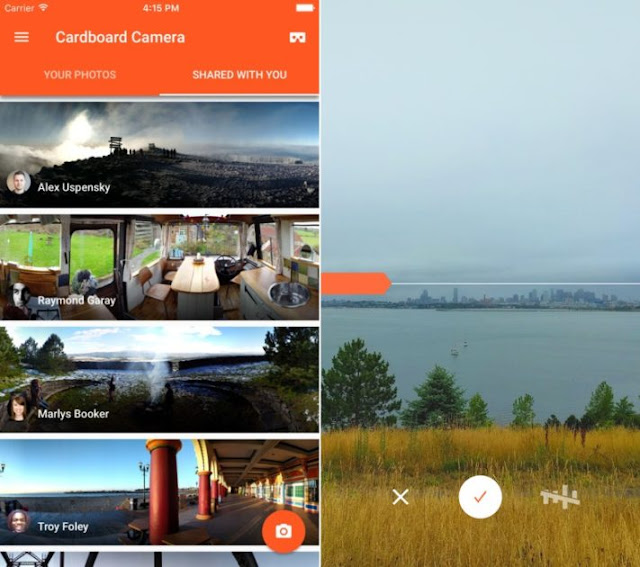 Google Cardboard Camera App Now Available for iOS