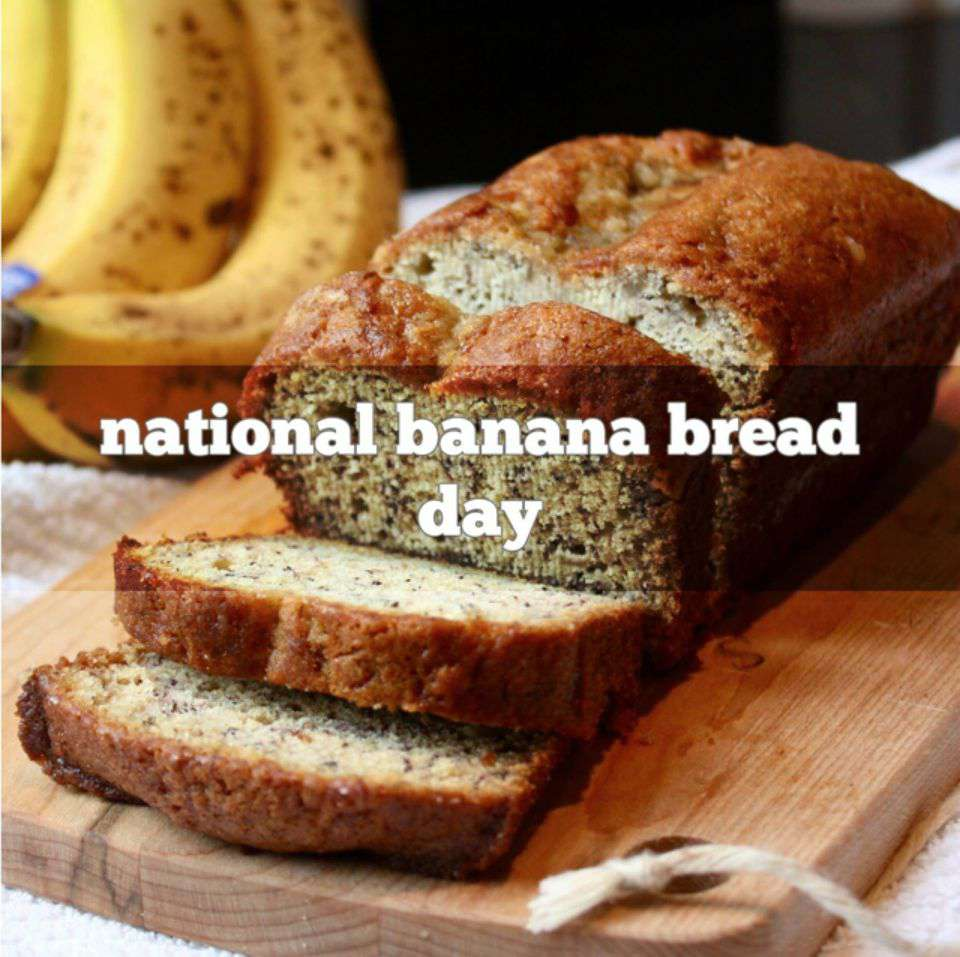 National Banana Bread Day Wishes For Facebook