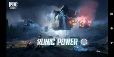 runic power -pubg new update