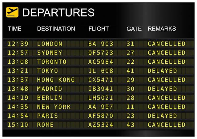 cancellazione volo