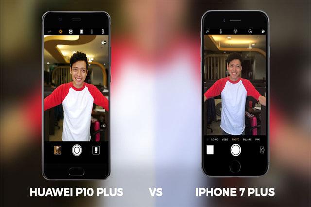 مقارنة بين iPhone 7 Plus و Huawei P10 Plus