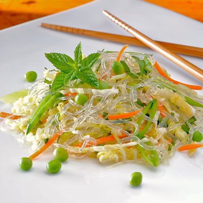 Sea Tangle Noodle Slaw with Vietnamese Dressing