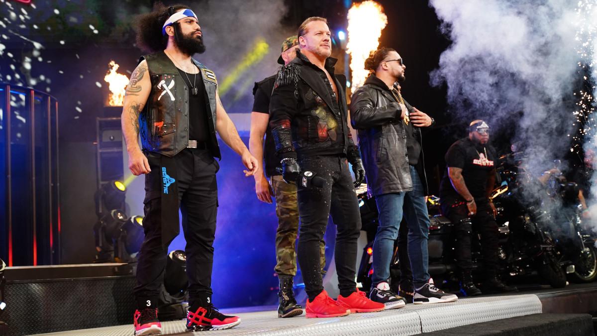 Chris Jericho queria separar o Inner Circle na AEW