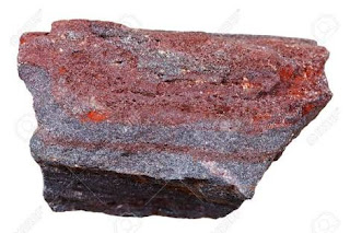 Brown hematite iron ore