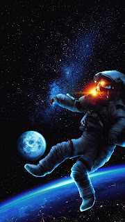 Astronaut Space Mobile HD Wallpaper