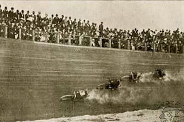 Sejarah Balap Motor Board Tracker 1910s