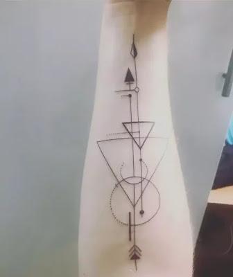 Classic Forearm Tattoo seven Music Forearm
