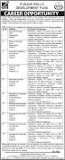 Latest Punjab Skills Development Fund PSDF Jobs