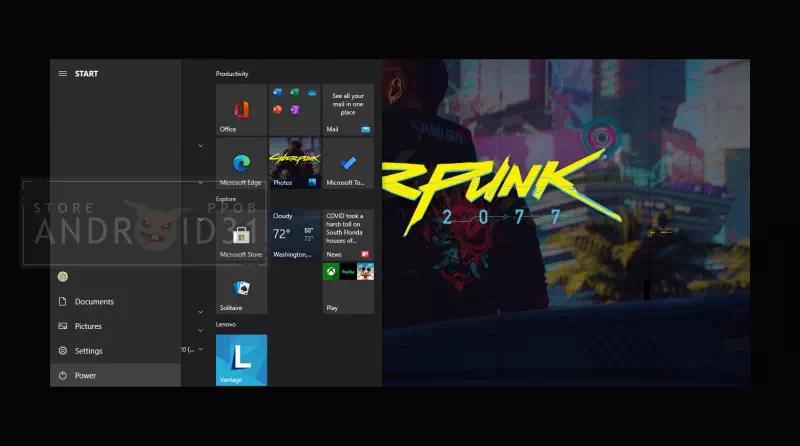 Cara Menghilangkan Tombol Power di Start Menu Windows 10