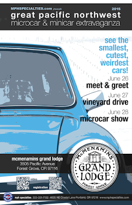 2015 Great Pacific Northwest Microcar & Minicar Extravaganza