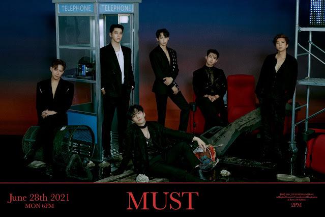 2PM hacen comeback con MUST como grupo completo