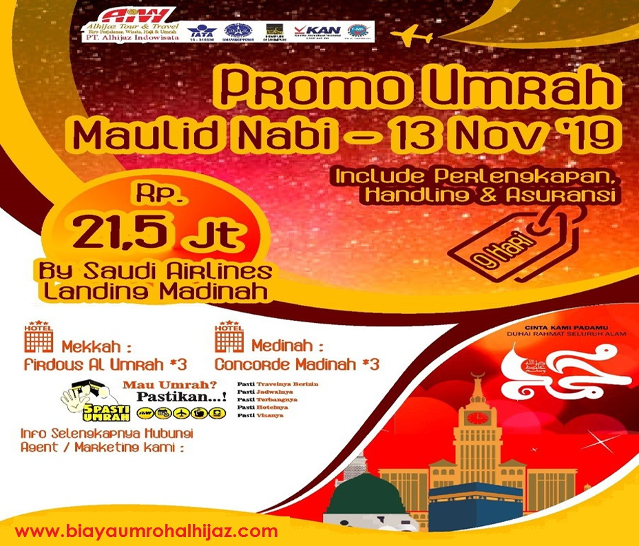 Travel Alhijaz Promo November 2019