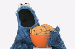 me want it cookie monster