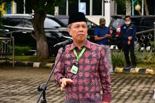 Bupati Batanghari Berikan SK PNS Dan Pengambilan Sumpah.