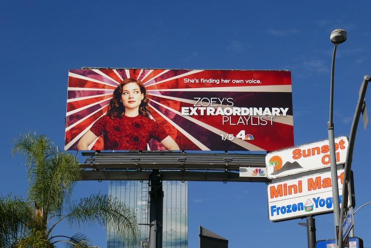 Zoeys Extraordinary Playlist season 2 billboard