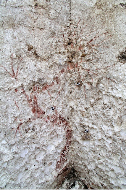 Archaeologists document the oldest known forerunners of fresco paintings in the Mediterranean region
