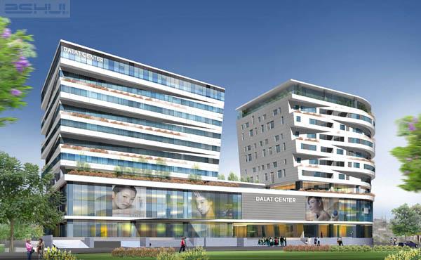 Bản vẻ thiết kế công trình chợ mới Đà Lạt file cad full kiến trúc