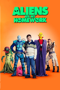 Aliens Ate My Homework Poster