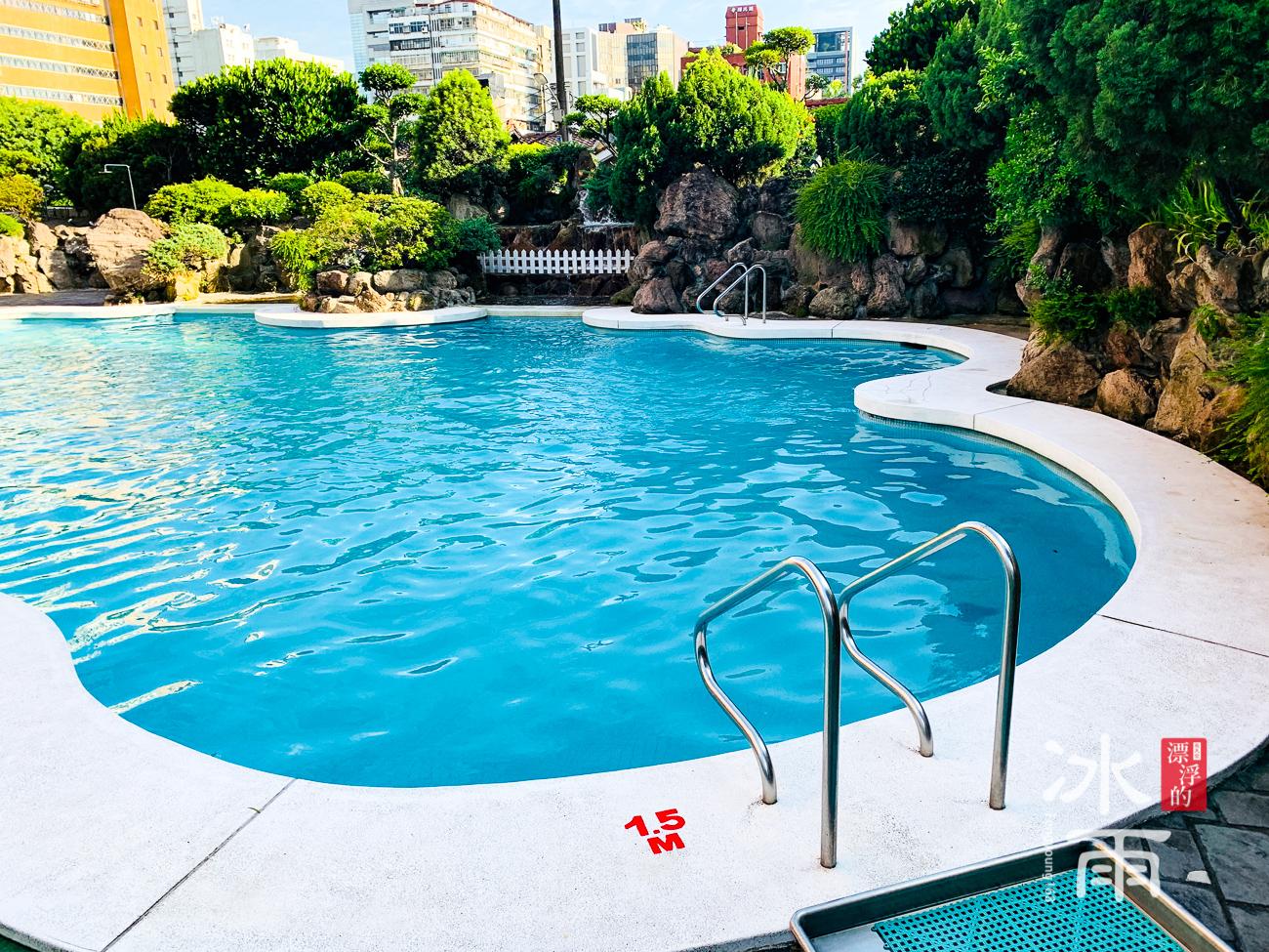 台北福華大飯店|一樓游泳池