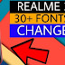How To Change Fonts In Realme 3 | Realme 3 Fonts Change | Esay Techs